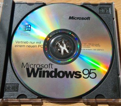 Häufige Fehler bei Installation von Windows 95 (OSR 2.x) mit Bootdiskette - auch in einer virtuellen Maschine (VM)