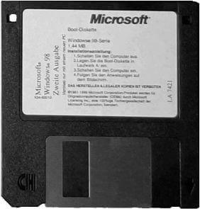 """Deutsche Windows 98 SE Bootdiskette mit Unterstützung auch für """"moderne"""" Systeme"""